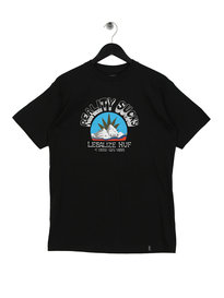 Huf Reality Sucks Short Sleeve T-Shirt Black