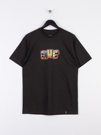 Huf Town Short Sleeve T-Shirt Black