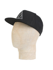 HUF Triangle Snapback Cap Black