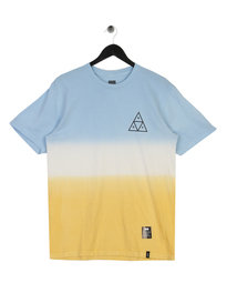 Huf Triple Triangle Gradient T-Shirt Blue