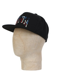 Huf University Snapback Hat Black