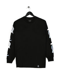 HUF X Sorayama Long Sleeve T-Shirt Black