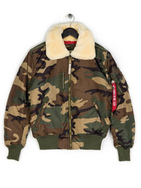 Alpha Industries Injector III Jacket Camo