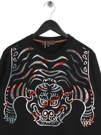 IUTER Tibetan Crew Neck Sweat Black