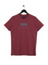 Edwin Japan T-Shirt Red