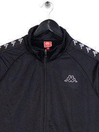 Kappa Anniston Slim 222 Banda Tracktop Black