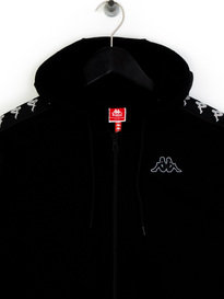 Kappa Arit Authentic Slim Hoodie Black