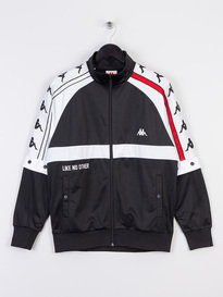 Kappa Bafer Authentic Track Jacket Black