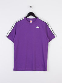 Kappa Coes 222 Banda T-Shirt Purple