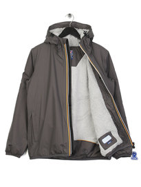 K-Way Le Vrai 3.0 Claude Orsetto Jacket Grey
