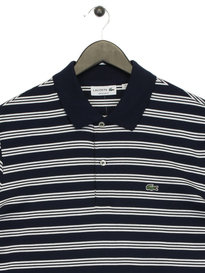 Lacoste Mini Stripe Jersey Navy