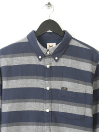 LEE BUTTON DOWM SHIRT NAVY