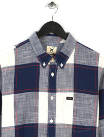 Lee Button Down Shirt Blue