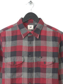 LEE WORKER SHIRT MAROON