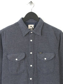 LEE WORKER SHIRT NAVY