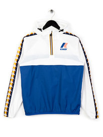 Kappa x K-Way Le Vrai Leon Banda Jacket Blue