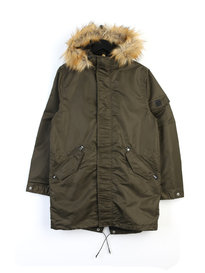 Luke Cruise Technical Parka Black