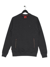 Luke Devon Minnow OTM Crew Sweat Charcoal