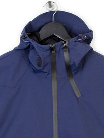 LUKE DUCKS BACK TECHNICAL JACKET NAVY