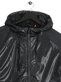 Luke French Email Hooded Jacket Black