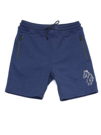 Luke Furic Sport Slim Fit Shorts Blue