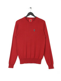 Luke Gerard Otm Crew Knit Red