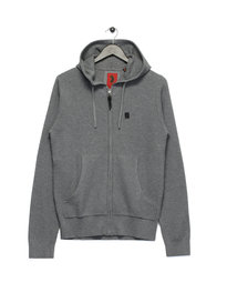 Luke Gert Lush Zip Up Hoody Grey
