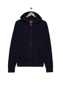 Luke Gert Lush Zip Up Hoody Navy