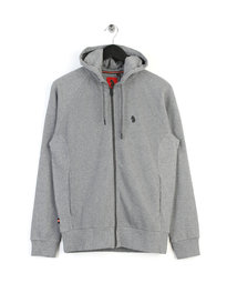 Luke Honey Brower OTM Zip Up Sweat Grey