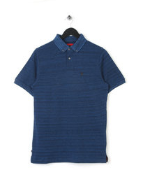 Luke My Pal Shirt Collar Polo Navy