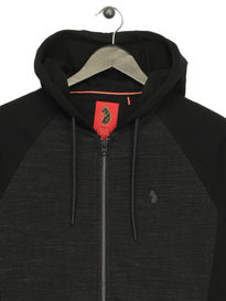 Luke Spaced Browser Hoody Black