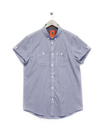 Luke The Warrior Button Down Shirt Navy