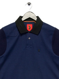 Luke Tony The Doorman Polo Shirt Navy