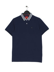 Luke Turtles Head Polo Navy