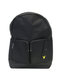 Lyle & Scott 2 Pocket Rucksack Black
