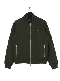 Lyle & Scott Bomber Jacket Green