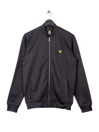 LYLE & SCOTT BOMBER SWEATSHIRT BLACK