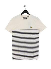Lyle & Scott Breton Stripe T-shirt Navy