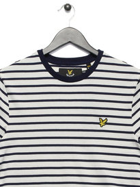 Lyle & Scott Breton Stripe T-Shirt White