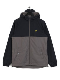 Lyle & Scott Colour Block Jacket Navy