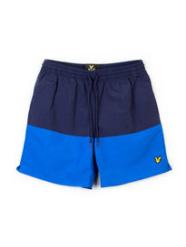 LYLE & SCOTT COLOUR BLOCK SWIM SHORT NAVY