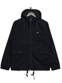 Lyle & Scott Cotton Zip Through Jacket Navy