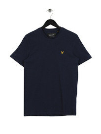 Lyle & Scott Crew Neck Marl T-Shirt Z159 Navy