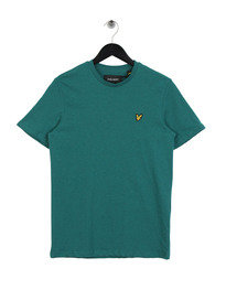Lyle & Scott Crew Neck Marl T-Shirt Green