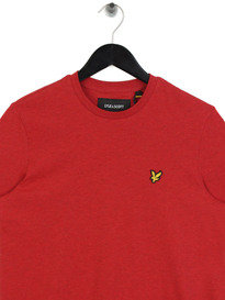 Lyle & Scott Crew Neck Marl T-Shirt Z476 Red