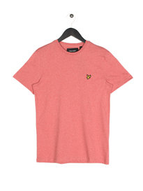Lyle & Scott Crew Neck Short Sleeve T-Shirt A09 Pink