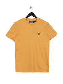Lyle & Scott Crew Neck T-shirt Honey Yellow