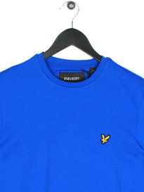 Lyle & Scott Crew Neck Short Sleeve T-Shirt Y22 Lake Blue