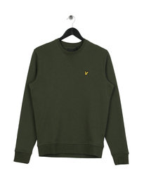 Lyle & Scott Crew Neck Sweatshirt Green