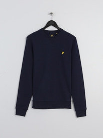 LYLE & SCOTT CREW NECK SWEATSHIRT NAVY